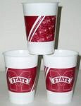 Mississippi State Bulldogs 16 oz Cups