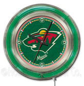 Minnesota Wild Neon Clock