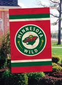 Minnesota Wild 2 Sided Banner Flag