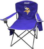 Minnesota Vikings XL Cooler Quad Chair