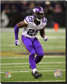 Minnesota Vikings Xavier Rhodes 2014 Action 20x24 Stretched Canvas