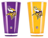 Minnesota Vikings Tumblers - Set of 2 (20 oz)