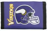 Minnesota Vikings Nylon Trifold Wallet