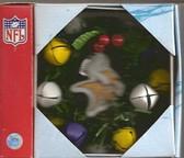 Minnesota Vikings Christmas Wreath Ornament