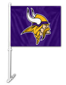 Minnesota Vikings Car Flag