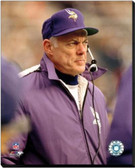 Minnesota Vikings Bud Grant Action 16x20 Stretched Canvas AAIR043-248