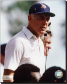 Minnesota Vikings Bud Grant Action 16x20 Stretched Canvas