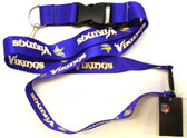 Minnesota Vikings Breakaway Lanyard with Key Ring
