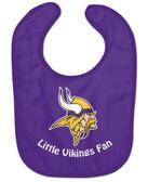 Minnesota Vikings Baby Bib - All Pro Little Fan