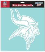 """Minnesota Vikings 8""""x8"""" Die-Cut Decal"""