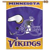 """Minnesota Vikings 27""""x37"""" Banner"""