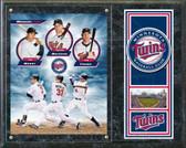 "Minnesota Twins Triple Play 2011 15""x12"" Plaque"