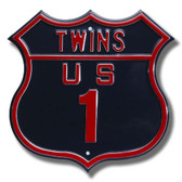 Minnesota Twins Route 1 Sign