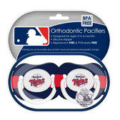 Minnesota Twins Pacifiers (Set of 2)