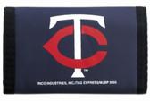 Minnesota Twins Nylon Trifold Wallet