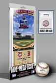 Minnesota Twins Mini-Mega Ticket 2010 Target Field Opening Day
