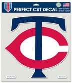 "Minnesota Twins Die-Cut Decal - 8""x8"" Color"