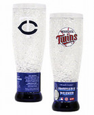 Minnesota Twins Crystal Pilsner Glass