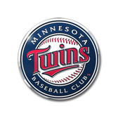 Minnesota Twins Color Auto Emblem - Die Cut