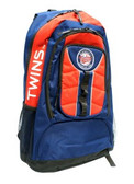 Minnesota Twins Back Pack - Navy Colossus Style