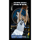 Minnesota Timberwolves Kevin Love Player Profile Wall Art 9.5x19 Framed Photo