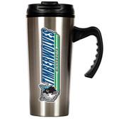 Minnesota Timberwolves 16oz Stainless Steel Travel Mug