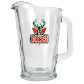 Milwaukee Bucks 60oz Glass Pitcher