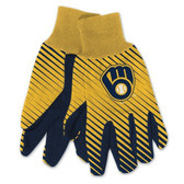 Milwaukee Brewers Two Tone Gloves