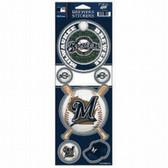 Milwaukee Brewers Prismatic Stickers
