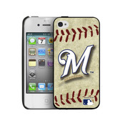 Milwaukee Brewers iPhone 4/4s Hard Cover Case Vintage Edition