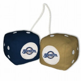 Milwaukee Brewers Fuzzy Dice