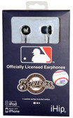 Milwaukee Brewers Ear Buds