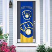 Milwaukee Brewers Door Banner