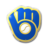 Milwaukee Brewers Color Auto Emblem - Die Cut
