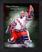 Mike Richter New York Rangers 11x14 Framed ProQuote