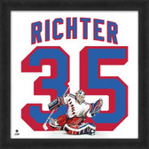 Mike Richter New York Rangers 20x20 Framed Uniframe Jersey Photo