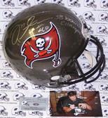 Mike Alstott Signed Tampa Bay Buccaneers Full Size Helmet AFSRTB-ALSTOTT-CHAMPS