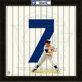 Mickey Mantle New York Yankees 20x20 Framed Uniframe Jersey Photo