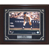 Mickey Mantle Framed Playing 1st Base 11x14 Photograph