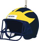 "Michigan Wolverines 3"" Helmet Ornament"