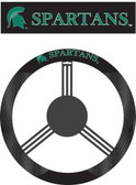 Michigan State Spartans Poly-Suede Steering Wheel Cover