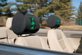 Michigan State Spartans Headrest Covers Set Of 2