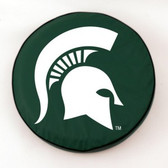 Michigan State Spartans Green Tire Cover, Small