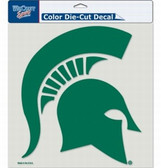 "Michigan State Spartans Die-Cut Decal - 8""x8"" Color"