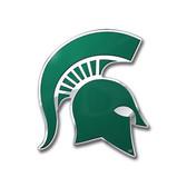 Michigan State Spartans Color Auto Emblem - Die Cut