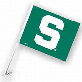 Michigan State Spartans Car Flag