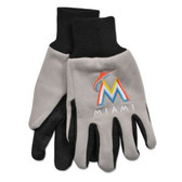 Miami Marlins Two Tone Gloves - Adult Size