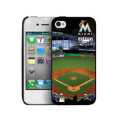 Miami Marlins iPhone 4/4s Hard Cover Case