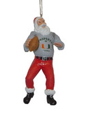 Miami Hurricanes Santa Claus Christmas Ornament