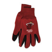 Miami Heat Two Tone Gloves